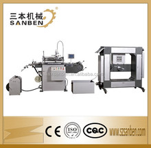 Sanben Cheap Price CE (SBS-320) Automatic Roll to Roll Screen Printing Machine Rotary Label Printer for Roll Sticker & Tag