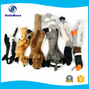 Cartoon Design Animal Shape Squeakly Pet Toy Imported From China