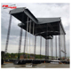 Good layher scaffolding system for portable stage metal roof truss