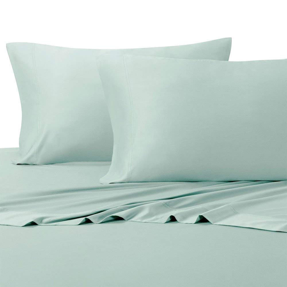 Royal Hotel Top-Split King: Adjustable Split Top King Sea Bamboo Bed Sheets 100% Bamboo Viscose Sheet Set