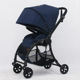 HIGH STANDARD HOT DESIGN GOOD BABY STROLLER ONE HAND FIVE SECOND FOLDING UNIVERSAL WHEELS AND SWITCHING LOCK