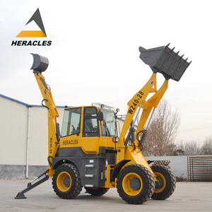 small turning radius compact backhoe loader hydraulic hammer with tree spade attachment for sale