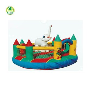 Inflatable fun city cheap inflatable sofa inflatable play equipment for children QX-18125B