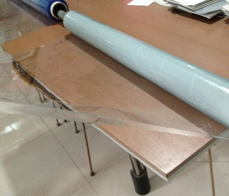 pvc self adhesive film for funiture packing/ table cover