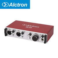 Alctron U48 dual channel audio interface ,Professional USB Audio Interface