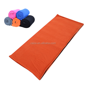 Fleece Sleeping Bag Liner Camping Envelope Slumber Bags
