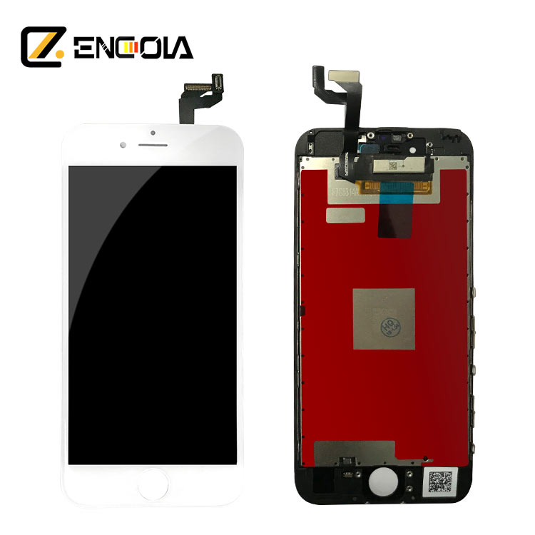 LCD digitizer עבור apple iphone longteng גבוהה עותק עבור apple iphone 6 s מגע מסך digitizer