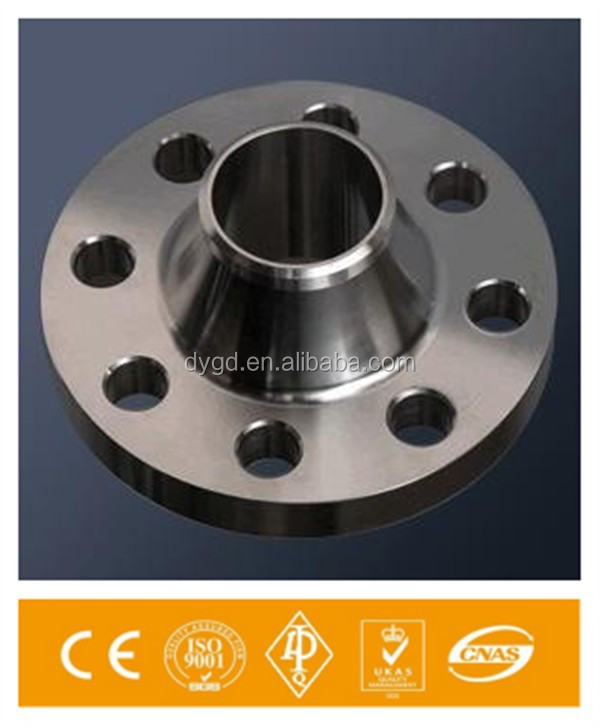 ANSI B 16.5 A105 standard dn 50 weld neck RF flange made in China