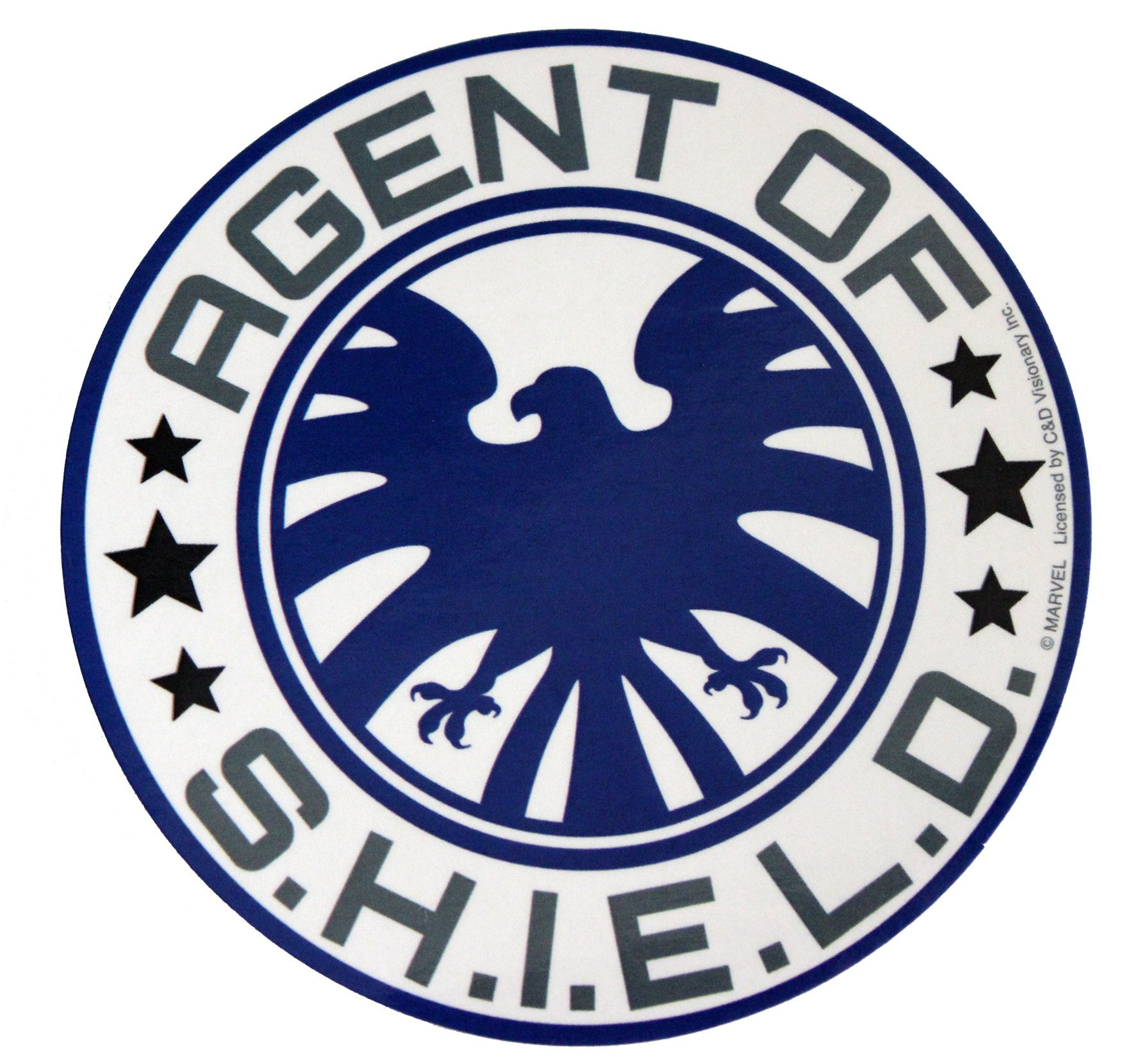 C&D Visionary Avengers Classic Agent of S.H.I.E.L.D Sticker Novelty