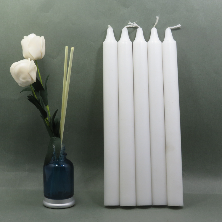 Venta caliente de la diferencia de tamaño al por mayor blanco vela precio barato