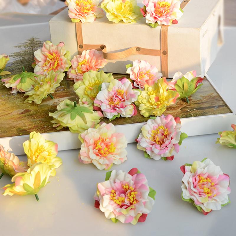 20pcs wholesale silk flower heads centerpieces weddings artificial flowers decoration mariage. Black Bedroom Furniture Sets. Home Design Ideas