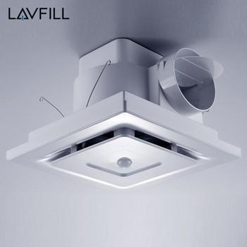 toilet exhaust with sensor large bathroom extractor fan 40w kitchen exhaust fan ventilator - Bathroom Extractor Fan