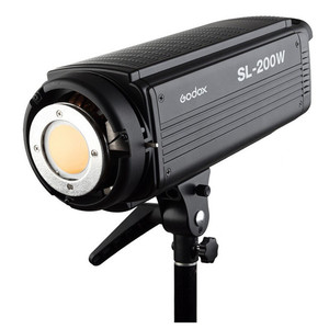 Godox SL200W/SL200Y 200W 5600K LCD Panel camera LED Video Light Continuous Output Bowens Mount Studio Light