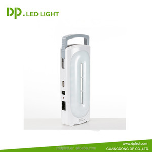 China hot seller DP LED design led made in japan emergency lights LED-7118 rechargeable light with battery 2400mAh