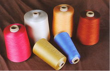 Dyed 100 % cotton colorful ring cone yarn price from China