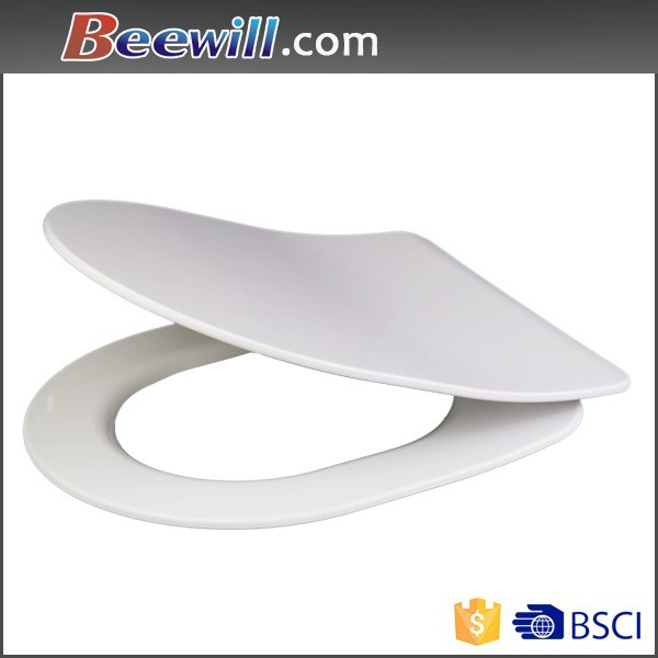 bathroom one piece ceramic squatting and sitting toilet/d shape toilet seat