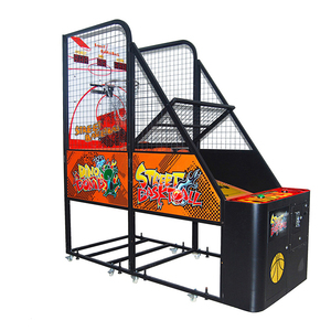 coin operated classic basketball game machine kids game machine for game center