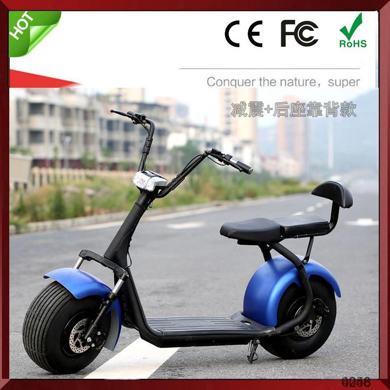 2016 fashion new design two wheel electric scooter city coco