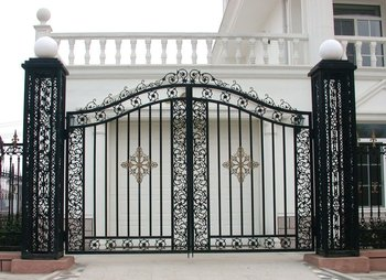 Modern Design Main Iron Gate Design At Home And Abroad