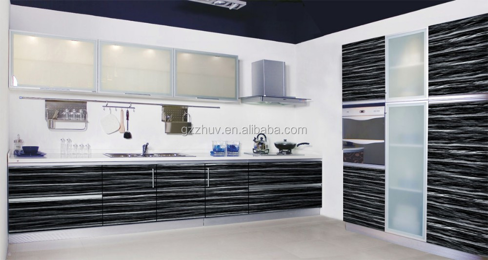 Zhihua New Pattern Mdf Kitchen Cabinet Design Used Doors Prices