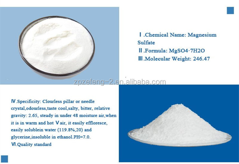 99 5% Industry Grade Magnesium Sulphate (mgso4 7h2o ) - Buy Sodium Sulfate  Anhydrous Anhydrous Sodium Sulfate Magnesium Sulphate,Sodium Sulfate