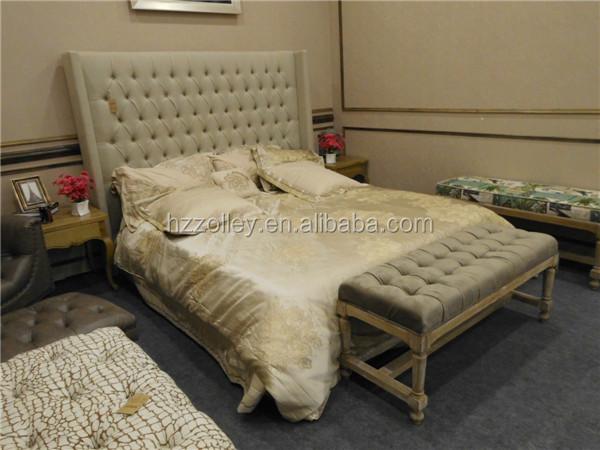 Muebles De La Sala Del Hotel Cama King Size Mayor Tapicería Grandes ...