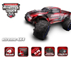 REMO 1/8 SCALE ELECTRIC 4WD 2.4GHZ RC OFF-ROAD BRUSHLESS MONSTER TRUCK.STANDARD EDITION