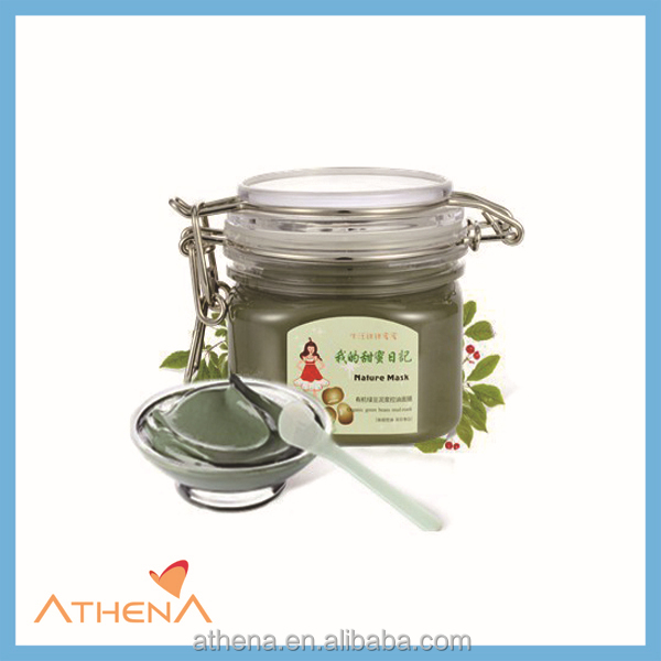 mung bean oily blemish control pores cleaning facial mud mask