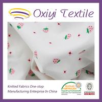 polyester spandex knitting single jersey