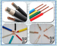 2.5/ 4 /6 /8 /10/ 16 /25 /35/ 50 mm2 PVC Copper Cabling Electrical Cable from China