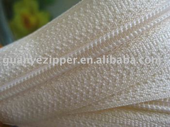 nylon zipper, polyester long chain