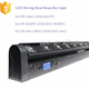 guangzhou 8X10W RGBW 4in1 LED Beam Moving Head Bar Wash Light dj disco stage lighting