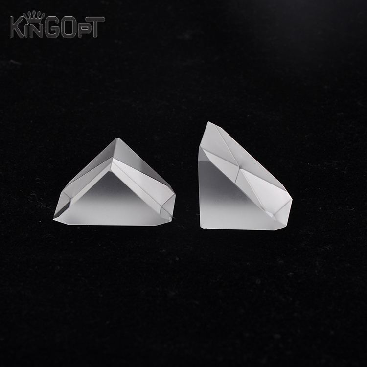 Best selling optical roof prism glass wedge-shaped rectangular prism