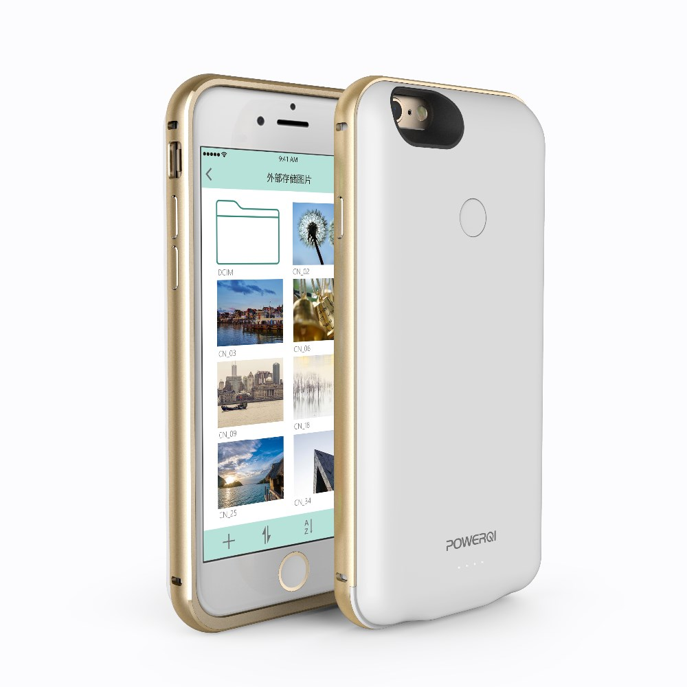 more photos 023ca 2c3de Power Supply Case With Sd Card,Qi Receiver Slot Backup Case Expanded Tf  Memory For Iphone 6 6s - Buy Power Supply Case With Sd Card,Qi Receiver  Slot ...