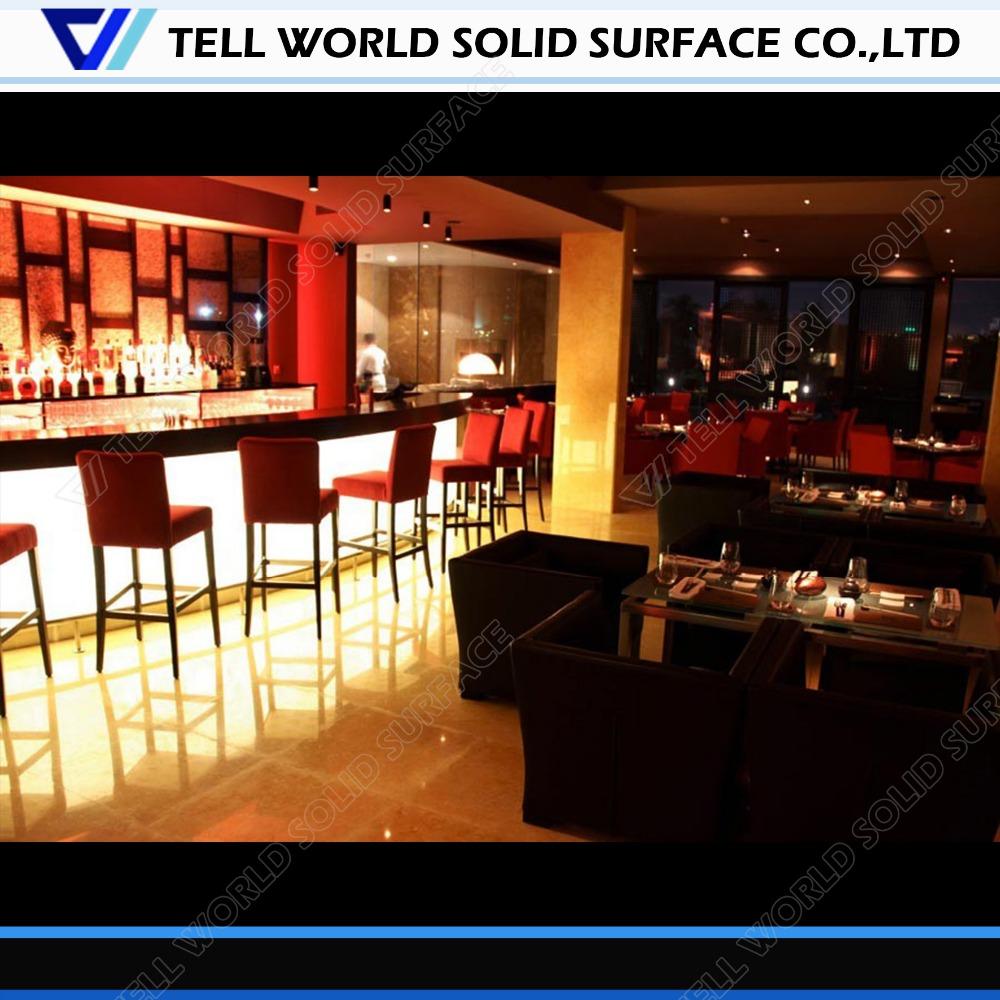 Restaurante Bar Counter Tops U003cbr/u003e Design Moderno Bar/balcão De Sushi Bar    Buy Product On Alibaba.com