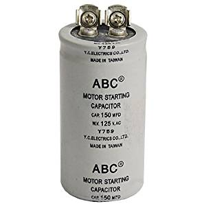 cheap ac motor start capacitor wiring diagram, find ac motor start crankcase heater wiring diagram get quotations · water & wood ac 125v 150uf 150mfd 2 terminals motor start up capacitor with car
