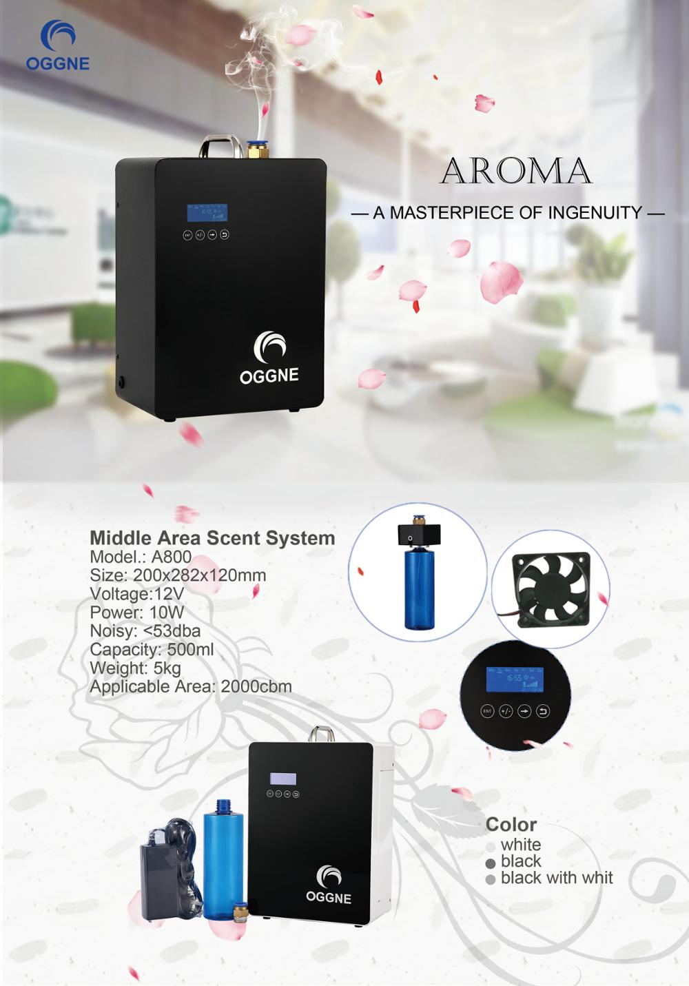 High quality HVAC system mini fan inside aroma oil scent air machine