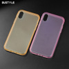 Colorful Bumper Clear TPU Phone Case For iphone XS case Cell Phone Accessories For iphone XR phone cover
