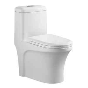 903 Dual flushing floor mounted cyclone one piece toilet