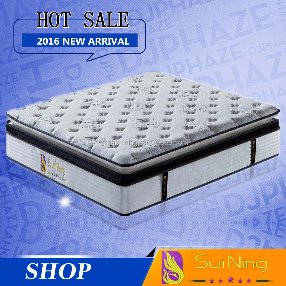 2016 Factory wholesale OEM welcomed available king size bamboo memory foam mattress