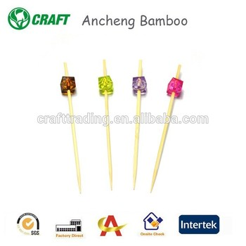 Hot selling Disposable Bamboo marshmallow roasting sticks