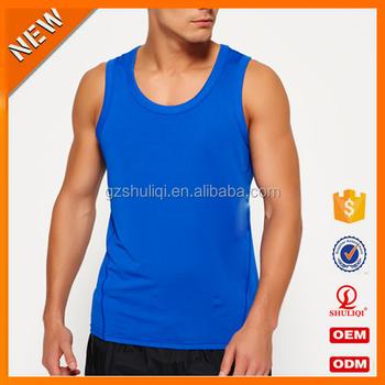 a2d055955e922 wholesale slim mens tank top fitness   body building clothes   gym vest  sports tank tops