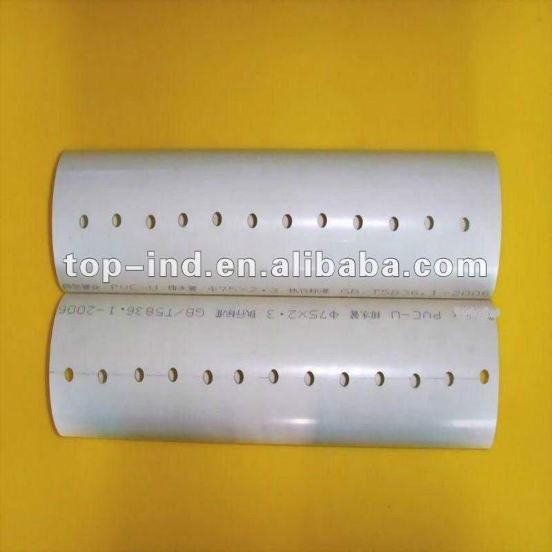 Tubo de pvc perforado tubos de pl stico identificaci n del - Tubo pvc precio ...