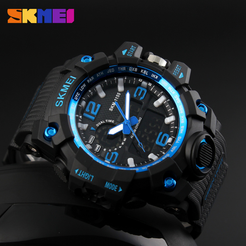 wholesale import watch digital skmei 1155 watches reloj military
