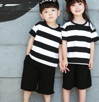 8d74eace zm35220a korean sport clothes wholesale baby kids casual clothes set