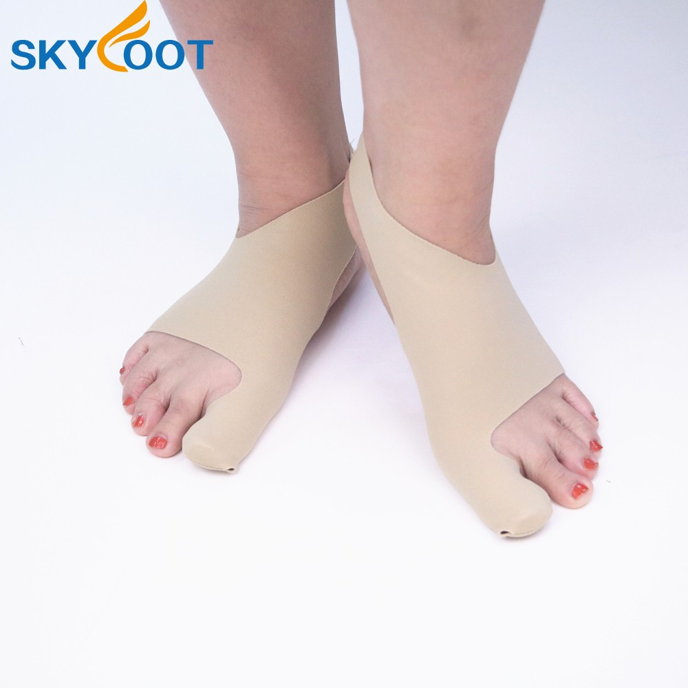Breathable Lycra Fabric High Elastic Orthopedic Hallux Valgus Bunion Sleeve And Bunion Correction Sock