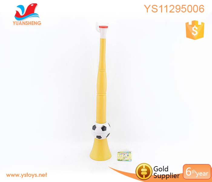 High quality horn make cheering noice toy plastic football trumpet