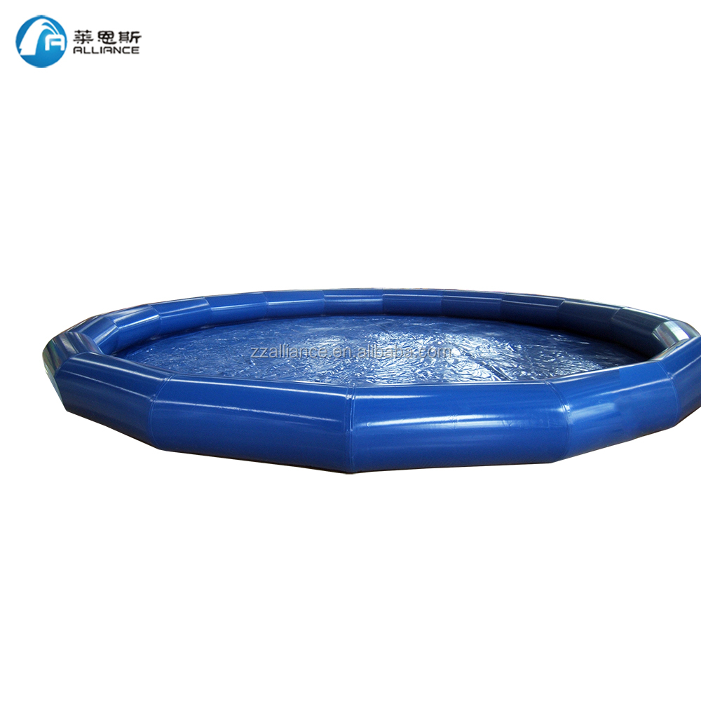 round giant water pool inflatable swimming floating pool