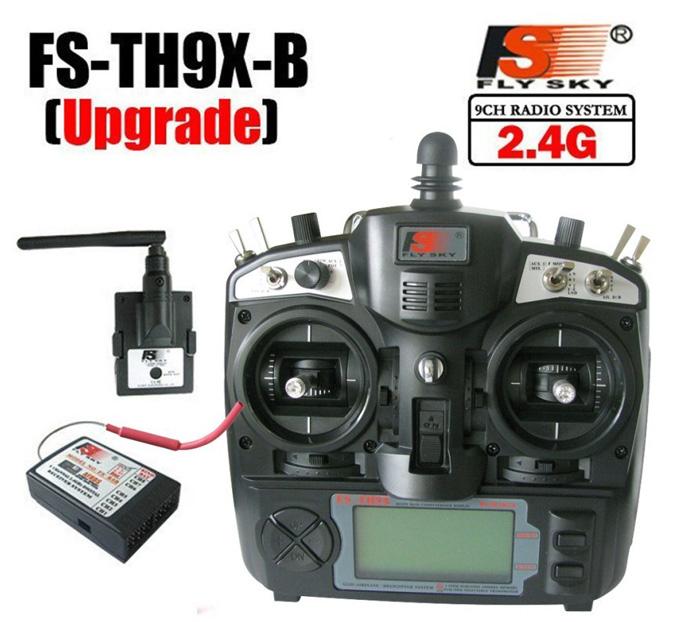 QA030 FlySky FS TH9X +IA10B remote control 2.4G 9CH Radio Set System (FS-TH9X+IA10B)9CH for rc Quadcopter helicopter planes