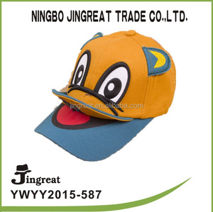 fashion sport cap custom emb duck face baseball cap